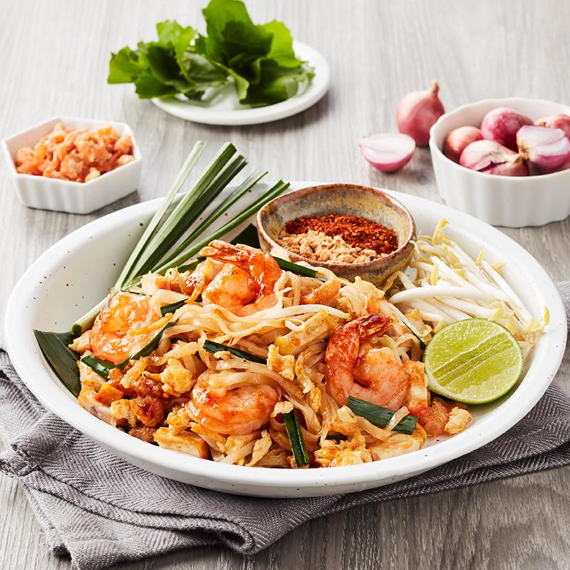 Phat Thai with Shrimp