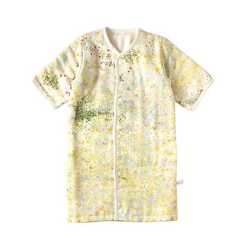 NAOMI ITO 6 LAYERED CLOUD COTTON DRESS SLEEPER IBUKI