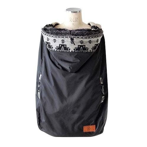BOBO WATER REPELLENT 2-WAY WARM COVER BLACK