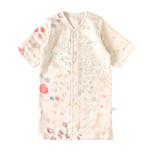 NAOMI ITO 6 LAYERED CLOUD COTTON DRESS SLEEPER AMEZAIKU