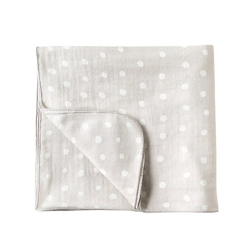NAOMI ITO LARGE CLOUD COTTON  SWADDLE/BLANKET KONPEI