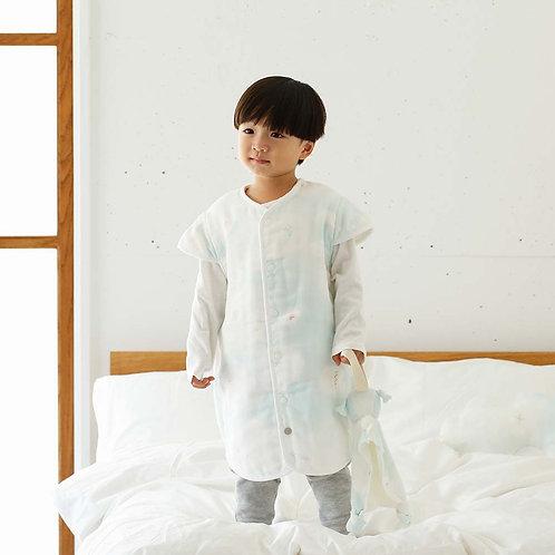 NAOMI ITO 2-WAY SLEEPER DRESS BLUE SKY
