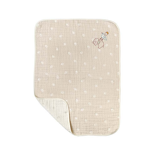 HOPPETA ORGANIC COTTON SMALL BLANKET GURI
