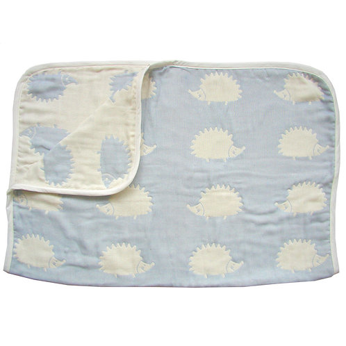 HOPPETA 6-LAYERED CLOUD COTTON BLANKET MOLE BLUE