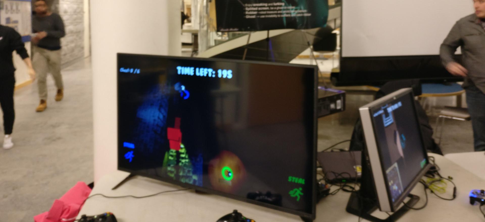 split screen in two monitor