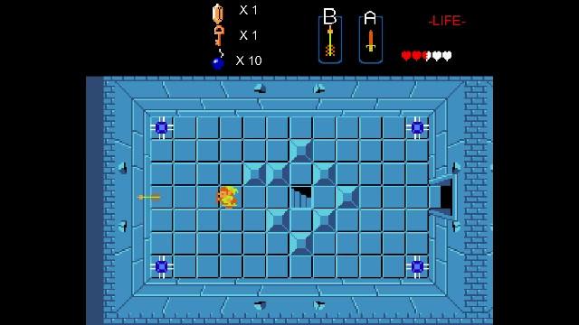 Legend of Zelda (1986 NES) Dungeon Level Remake