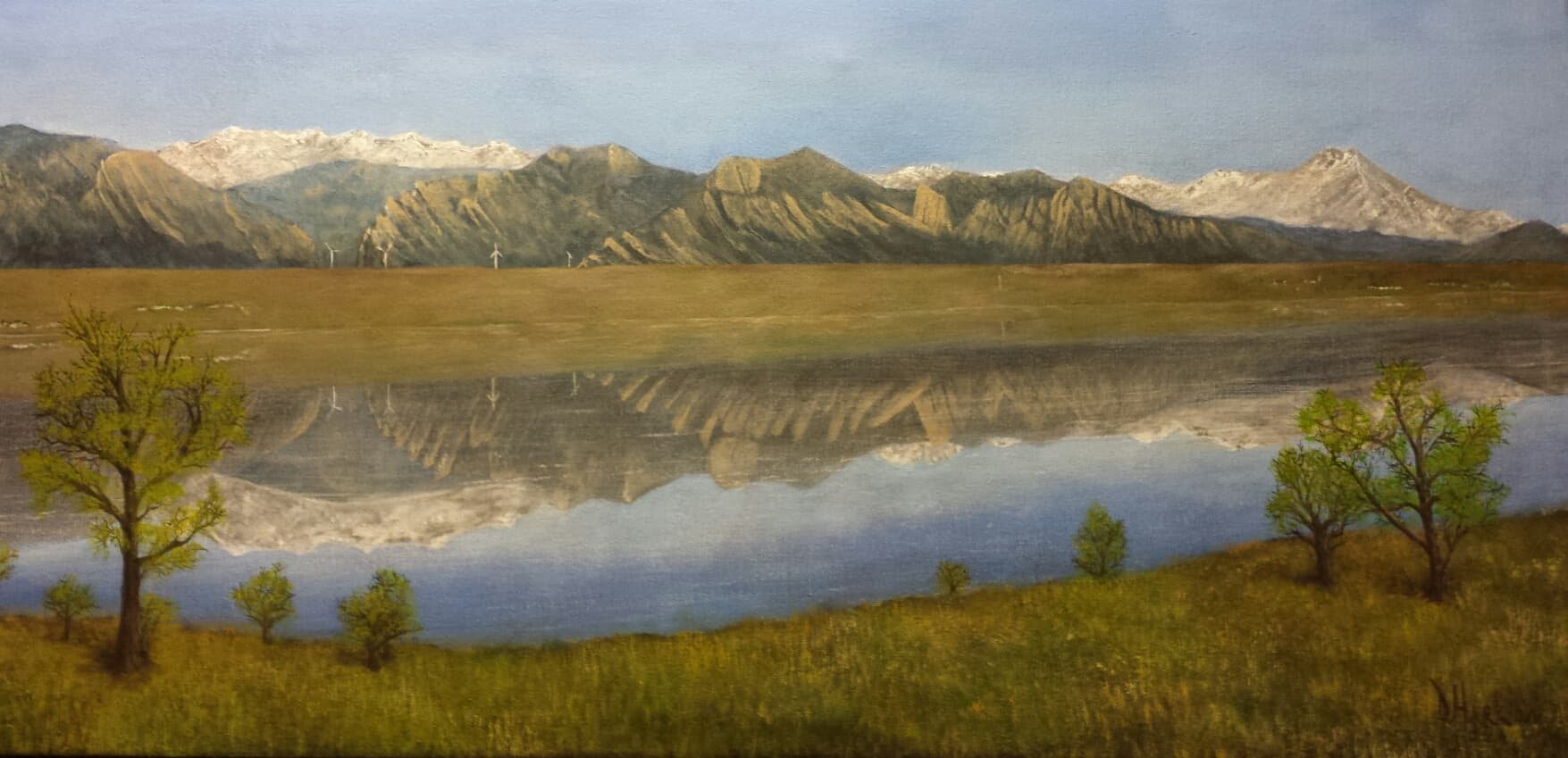 """Stanley Lake Springtime View"""