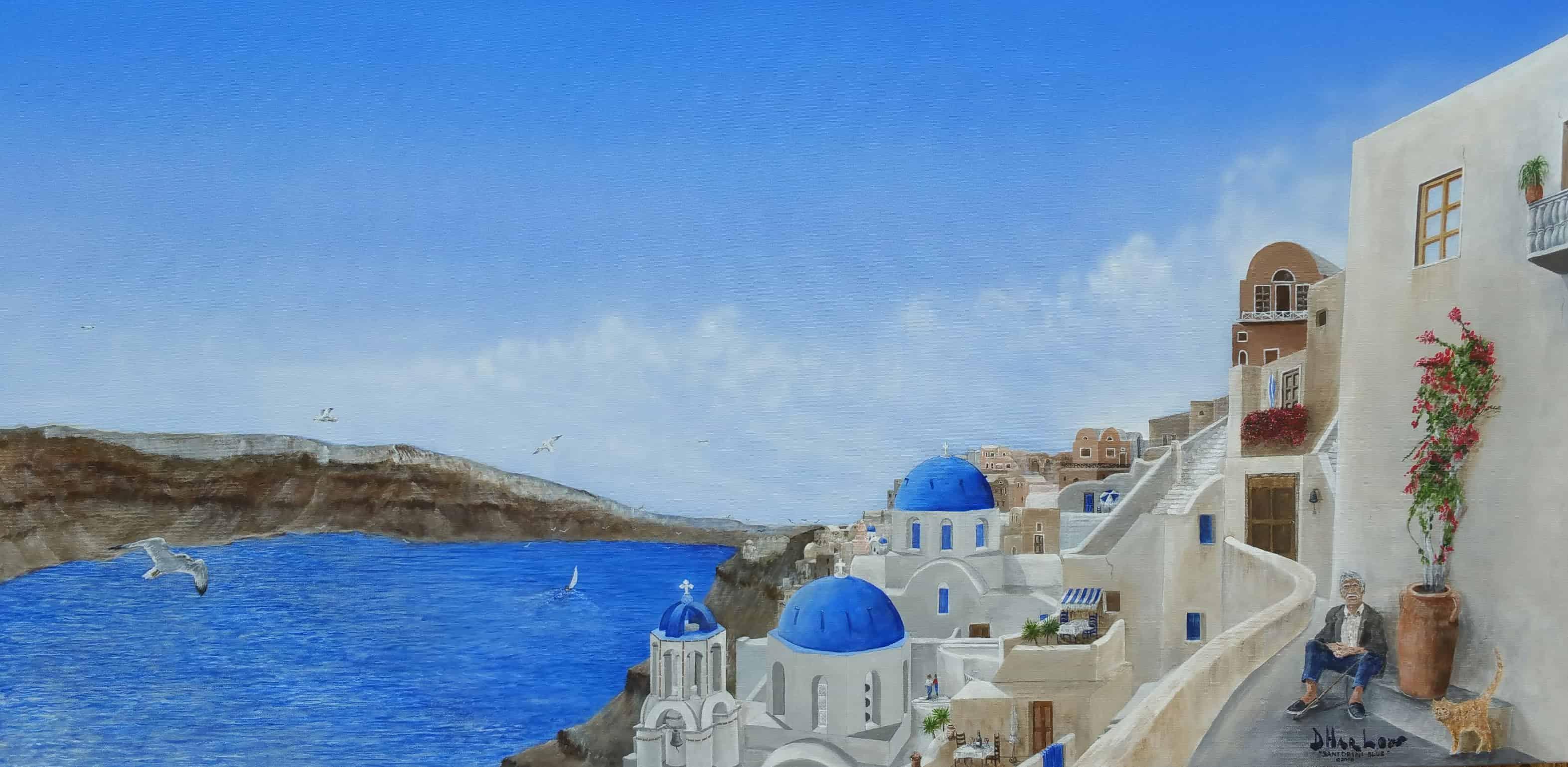 """Santorini Blue"""