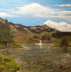 Trout Lake  24x24