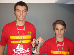 Equipa vencedora - ACD Sao Vicente- Joao