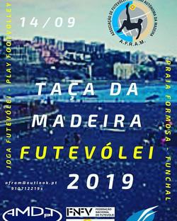 Taça da Madeira Futevólei 2019 - 14/09 -