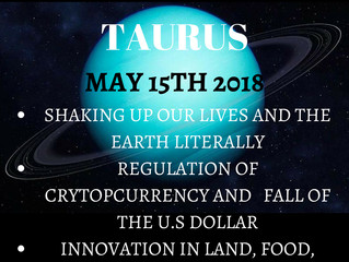 Uranus into Taurus: Expecting the Unexpected in Our Everyday Lives