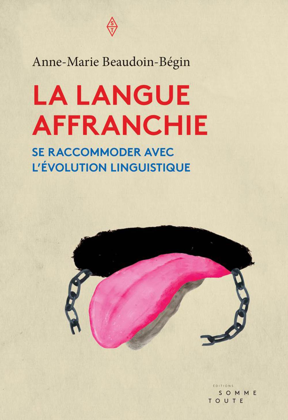 La langue affranchie, page couverture