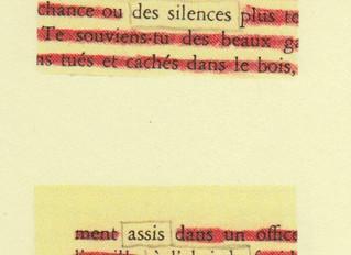 ARIA DE LAINE. POÈMES DÉCOUPÉS DANS MARIA CHAPDELAINE, de Marie-Ève Bouchard