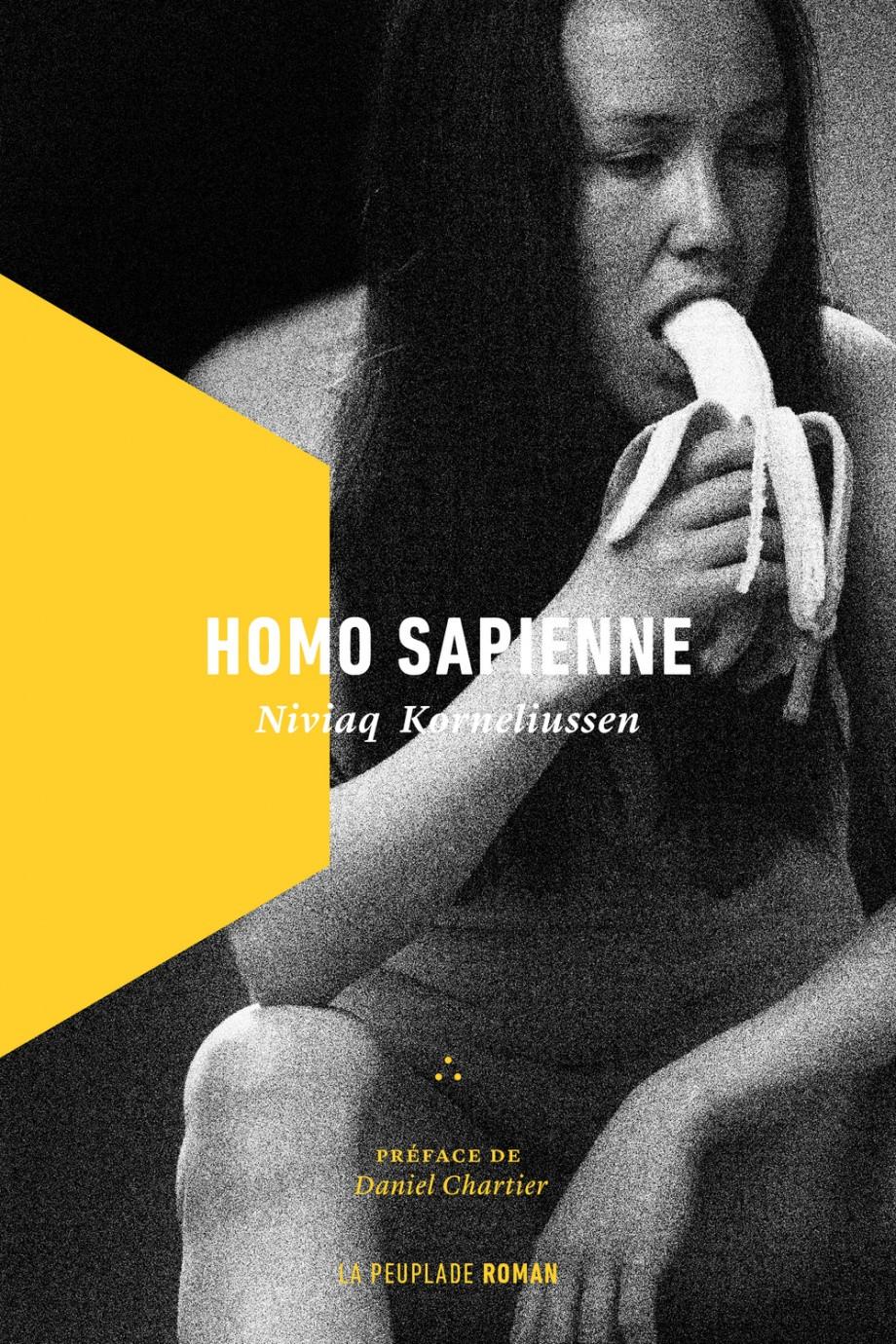 Homo sapienne, page couverture