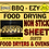 Thumbnail: BBQ-EZY Food Drying Dehydrator Non Stick Sheets