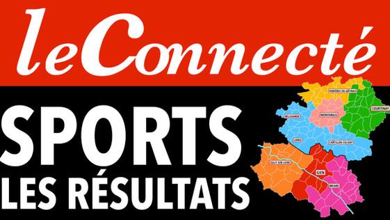 Résultats du week-end sportif du 23 et 24 octobre