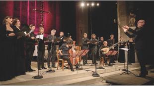Concert - L'Orphée de Dresde d'Heinrich Schütz, par l'Ensemble Jacques Moderne, le 8 novembre à Amil