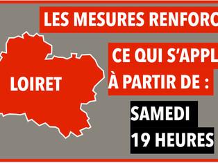 """Covid-19 / """"Freinage renforcé"""" dans le Loiret / Le mode d'emploi"""