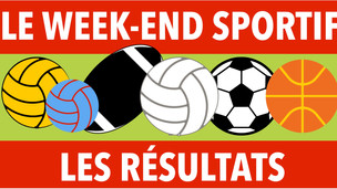 Résultats du week-end sportif des 24 et 25 octobre