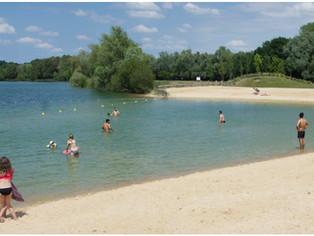 Label Pavillon bleu pour la plage de Châlette, une chance pour le tourisme en Gâtinais. Et pour tous