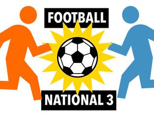 Football - National 3 : Résultats et classement de la 5e journée