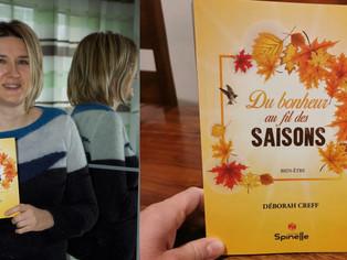 """""""Du bonheur au fil des saisons"""" avec Deborah Creff"""