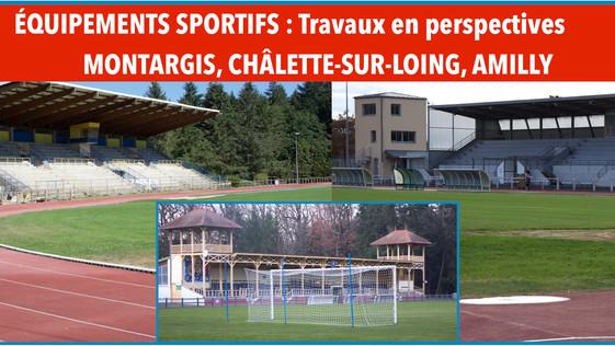 Infrastructures sportives dans l'agglo montargoise : les grands travaux