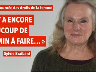 Sylvie Braibant, ex-journaliste à TV5 monde, évoque les droits des femmes