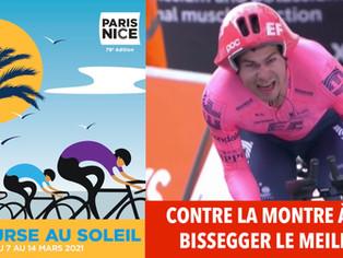 Paris-Nice : à Gien le suisse Stefan Bissegger remporte le contre la montre