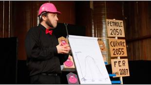 """Une conférence gesticulée sur l'éco construction : """"Le mensonge des trois petits cochons&qu"""