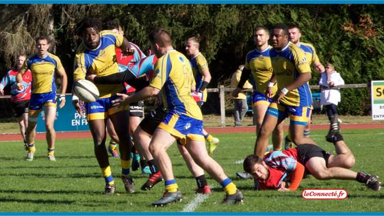 Rugby - Régionale 1 : Les Montargois impuissants face à Nogent-le-Rotrou (14-25)...