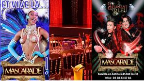 Rendez-vous au Diamant Bleu, et vive la mascarade ! Réouverture du cabaret le 11 septembre