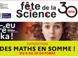 Courtenay - Jusqu'au 20 octobre, une expo pour se réconcilier avec les maths...