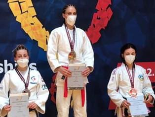 Ju-jitsu – L'Amilloise Estelle Gaspard vice-championne d'Europe…