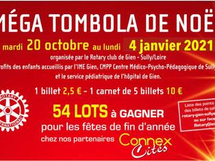 Le Rotary Club de Gien - Sully-sur-Loire fait sa grande tombola de fin d'année
