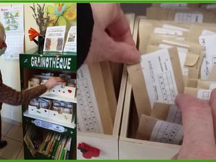 """À Dordives, une grainothèque à la bibliothèque pour """"semer le partage, récolter l'avenir"""""""