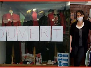 Andréa Sergent, boutique Capucine à Montargis, a ouvert ce samedi et interpelle les élus locaux