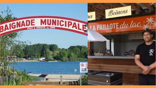 """La baignade de Châlette est ouverte / Une plage labellisée """"pavillon bleu"""" pour 2021"""
