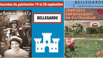 Le programme des journées du patrimoine à Bellegarde