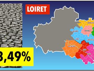 Dans le Loiret, près de 3/4 des communes reconnues en état de catastrophe naturelle suite à la séche