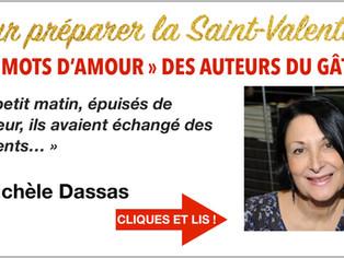 """Michèle Dassas : """" j'aime narrer les élans du cœur avec une certaine discrétion..."""""""