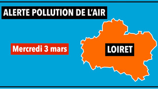 Mercredi 3 mars : alerte pollution par particules en suspension dans le Loiret