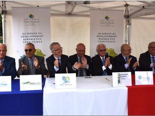 Signature du Contrat Régional de Solidarité Territoriale (CRST) : 17 millions d'euros sur 7 ans