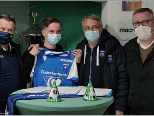 Football – L'Amillois Louis Collet (U13) rejoindra les U16 de l'AJ Auxerre !