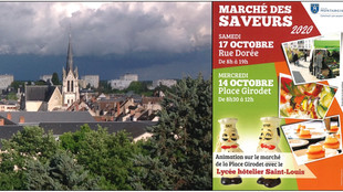 31ème édition de La semaine du goût, avec le marché des saveurs (animations les mercredi 14 et samed