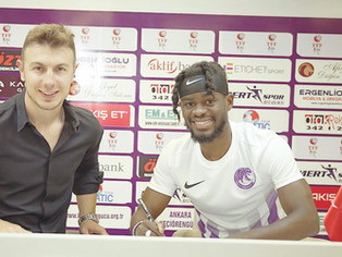 Football - Le Montargois Jodinel Nzeza signe à Ankara Keçiörengücü (D2, Turquie) !