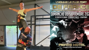 Courtenay - Dimanche 5 septembre, 3ème manche du championnat de France «Strongman»