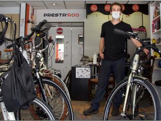 """Et si vous faisiez réparer votre vélo ? (profitez du """"coup de pouce vélo jusqu'à 50 euros)"""