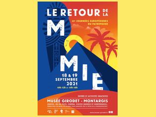 """Montargis - Le """"retour de la momie"""" au musée Girodet pour les Journées Européennes du Patrimoine"""
